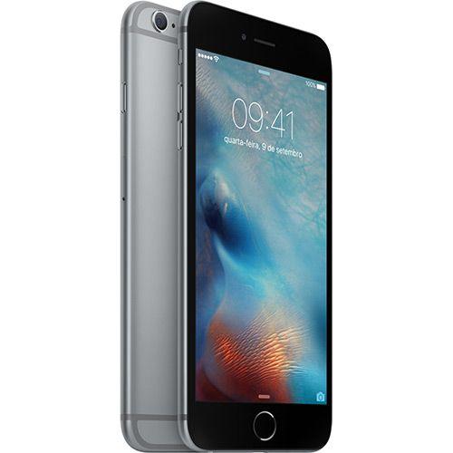 iPhone 6s Plus 16GB Cinza Espacial Tela 5.5 iOS 9 4G 12MP - Apple