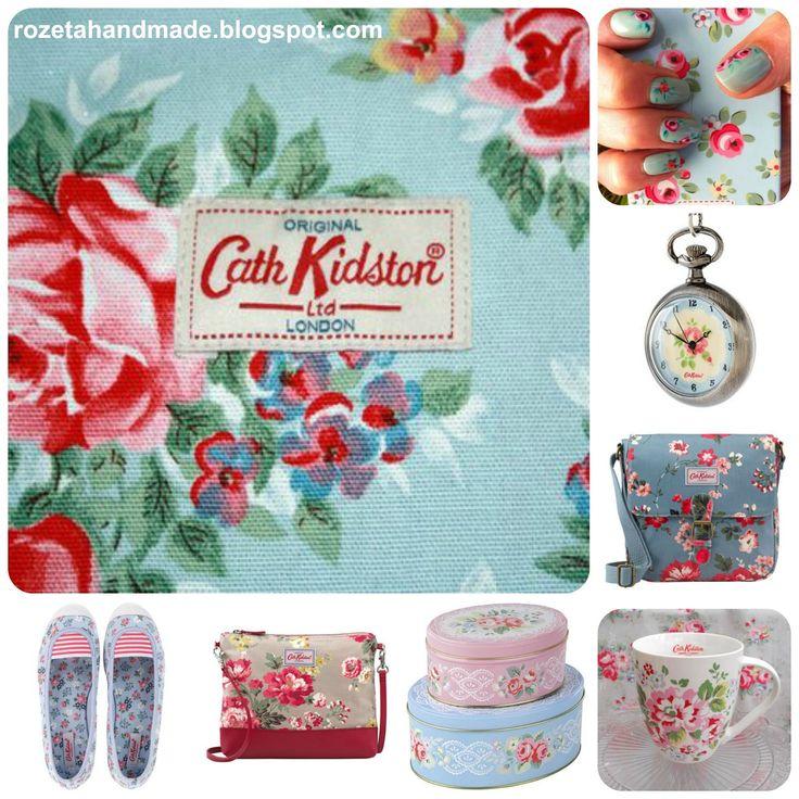Rozeta handmade: Cath Kidston i domowa sielanka:-)