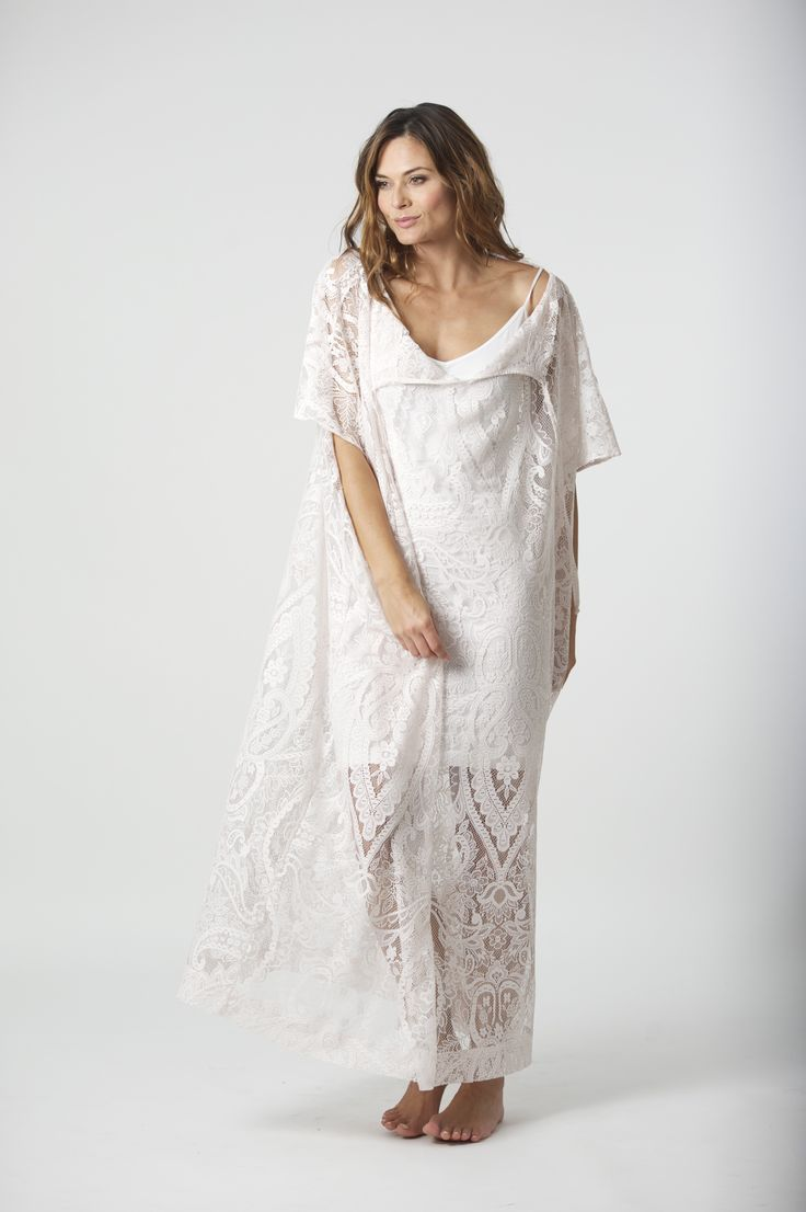 Baz inc. Effortless elegance, lace kaftan
