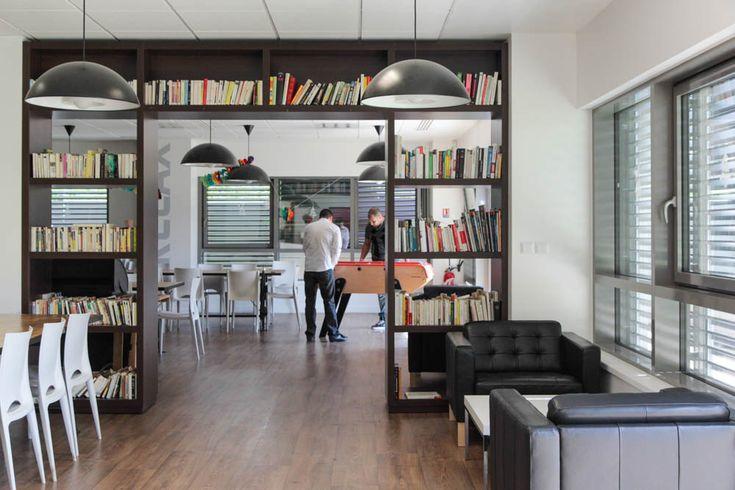 bureaux à l'honneur : Linkbynet vue de la salle de repos