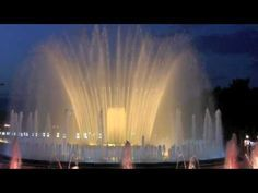 Barcelona's Magic Fountain of Montjuic! I miss it so...
