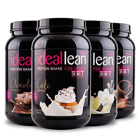 Build lean muscle and burn more fat with IdealLean Protein for women. Get toned, NOT bulky, with 20g of pure whey protein isolate and zero fat/sugar/carbs.