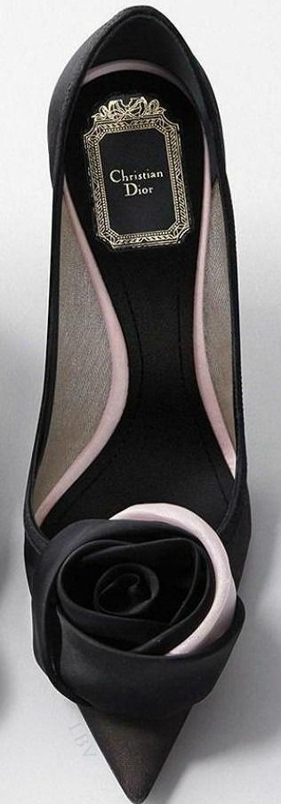 Dior pumps, beautiful! Women's designer fashion footwear shoes heels for parties dates                                                                                                                                                                                 More