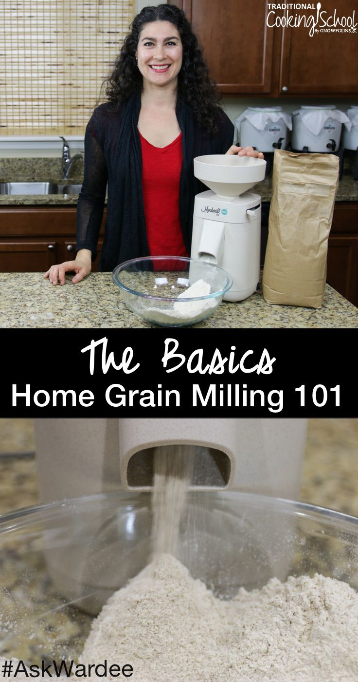 Grain mills, whole grains, milling flour... oh my! You had lots of questions about home grain milling, like... what are the types of grain mills and which one should I buy? What grains should I use and where can I get them? And most importantly, why would I want to mill my own flour anyway?! Watch, listen, or read for my answers to on the basics of home grain milling!