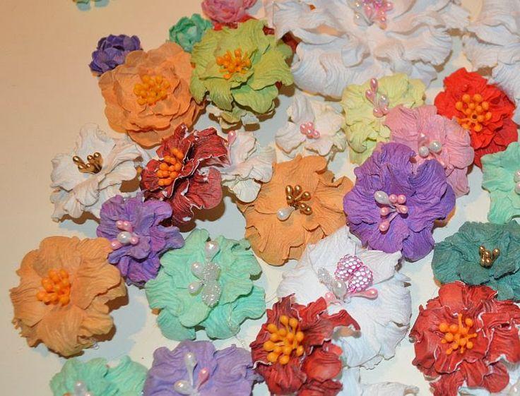 Kwiatek szczypany - kurs