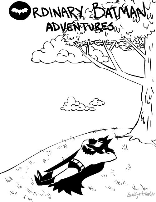 """Estava zapeando por ai e encontre estes gifs do Batman . """"Ordinary Batman Adventures."""" A autora é muito boa e criativa. Euparticularmente..."""