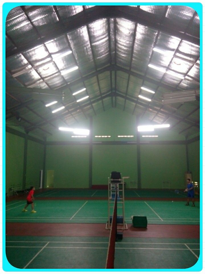 Badminton Training at PLN  Pusdiklat Ragunan with Mr. Faisal