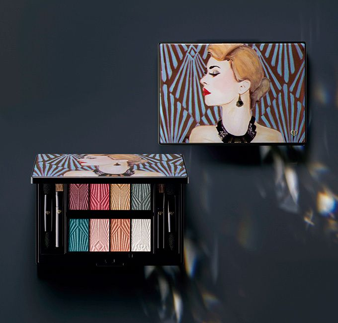 Cle de Peau Collection les Années Folles Eye Color Palette ~ 2016 Holiday Limited Edition - www.BonBonCosmetics.com