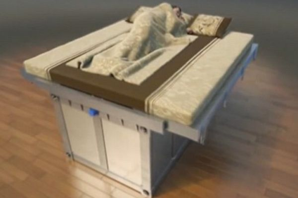 Chinese inventor Wang Wenxi's earthquake-proof beds will bury you alive…. The Ultimate Theft-Proof Drawstring Backpack Backyard Granny Pods Could Be Great Alternative To Nursing Homes Comments comments