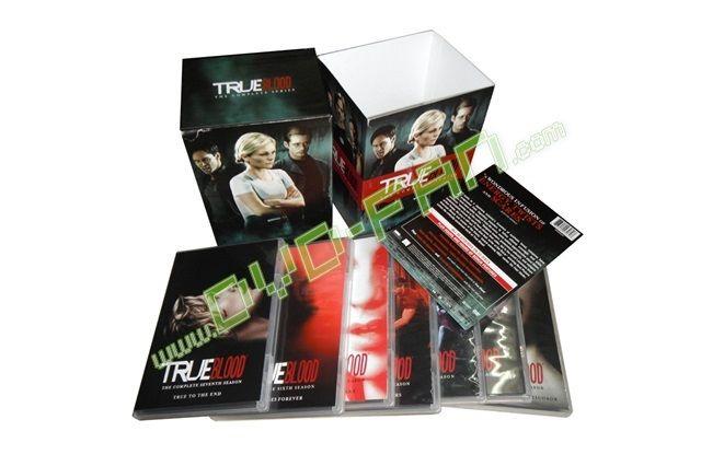 True Blood The Complete Series bulk dvds wholesale