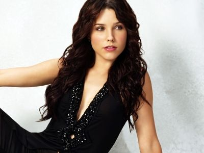 Sophia Bush Black Dress HD wallpaper