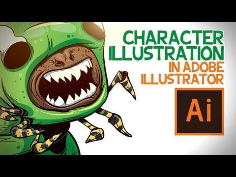 Character in Adobe Illustrator - YouTube