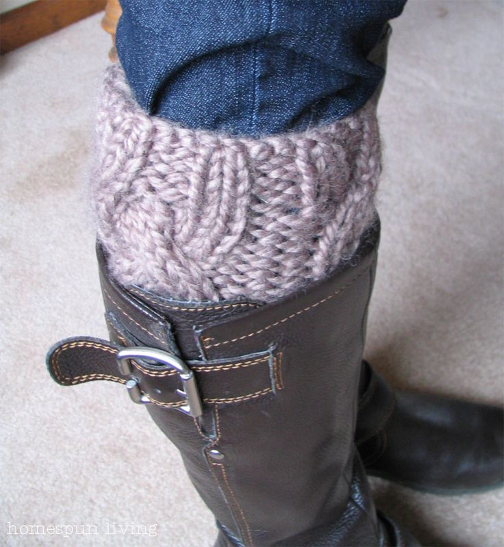 246 best Boot Cuffs and Leggings images on Pinterest | Knit crochet ...