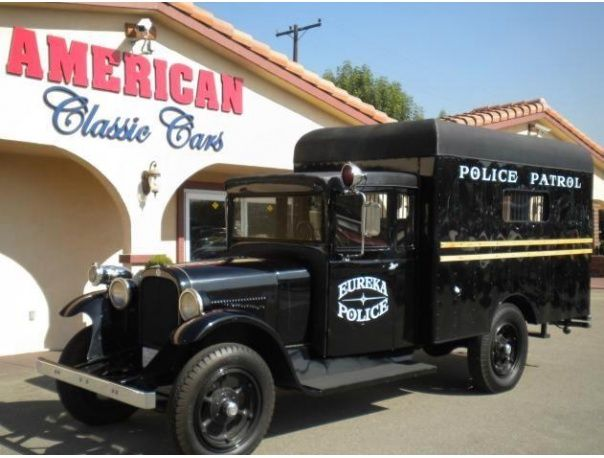 The classic 1925 Dodge Police Paddy Wagon in Pomona CA. Shop cars in Pomona, Stay Pomona Proud. FossilCars.com #PomonaProud