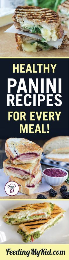 This is a must share! Try these healthy panini recipes. They're great tasting…