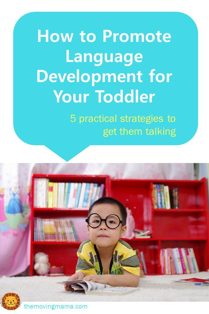 Language development is very important during the toddler years, but every child will learn at their own pace. Here are some things you can do to encourage their language skills.
