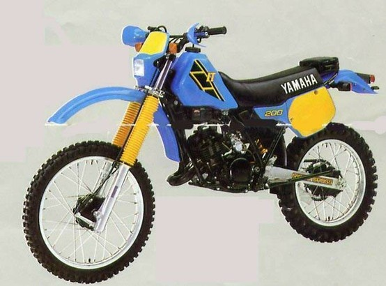 1986 Yamaha It200