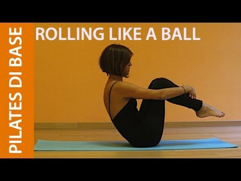 Pilates - Esercizi di Base - Rolling Like a Ball