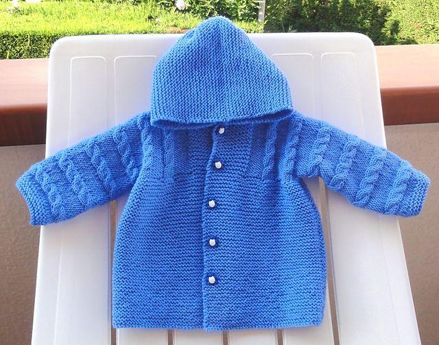 Ravelry: Hooded baby coat pattern by Filomena Lanzara