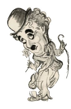 caricature charlie chaplin - Google Search