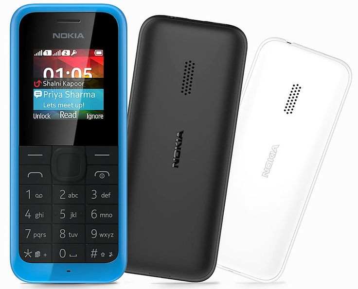 Nokia 105 Dual SIM with FM RADIO launched in India for Rs. 1419