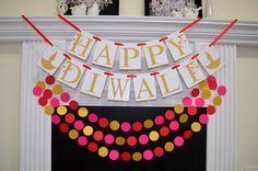 Happy Diwali Banner, Diwali Sign, Diwali Banner, Diwali Decoration, Indian Festival of Lights, Hindu Festival, Laxmi Puja, Diwali Sign