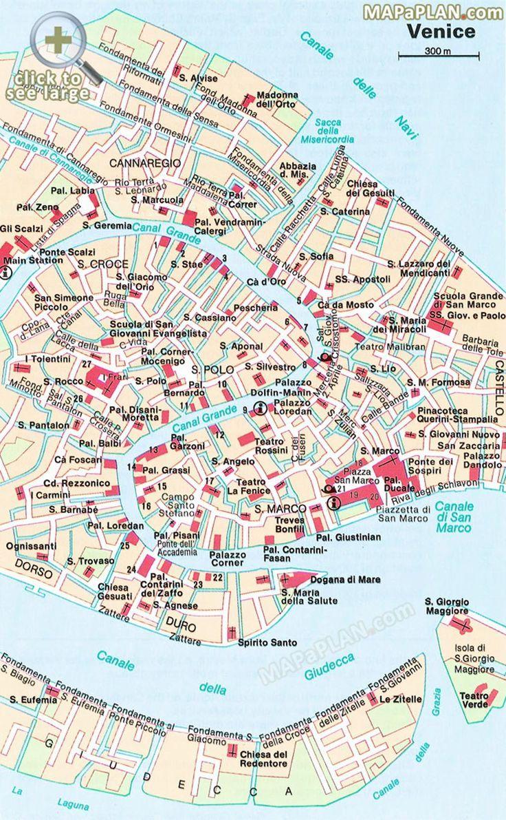Die Beliebtesten Sehenswurdigkeiten Im Zentrum Von Venedig Die