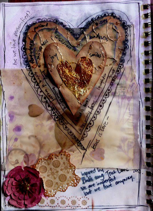 what-is-love-journal-page