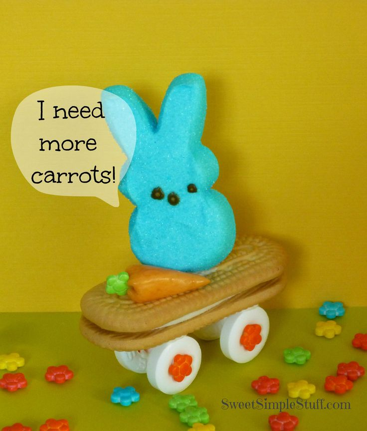 Skateboarding Bunny TreatsDesserts, Diy Crafts, Cookies Skateboards, Easter Recipe, Easter Crafts, Easter Bunnies, Skateboards Bunnies, Easter Baskets, Easter Treats