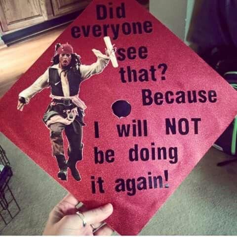Cool idea for grad cap by Savannah Rose Hamilton | We Heart It