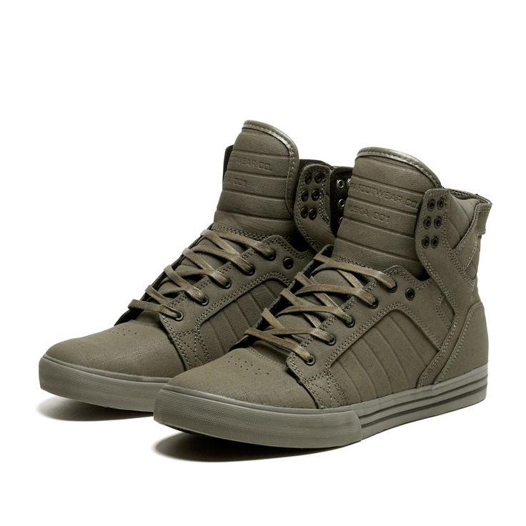 Estos son ideales para llevar con pantalones skinny SUPRA SKYTOP Shoe | Official SUPRA Footwear Site