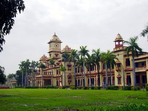 An iconic pic of IIT BHU