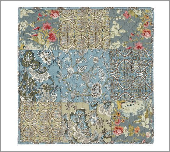 Neena Patchwork Sham, Euro | For the Home | Pinterest ...