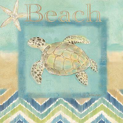 Chevron Beach Blue II  Cynthia Coulter