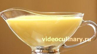 Ванильный соус от видеокулинария.рф
