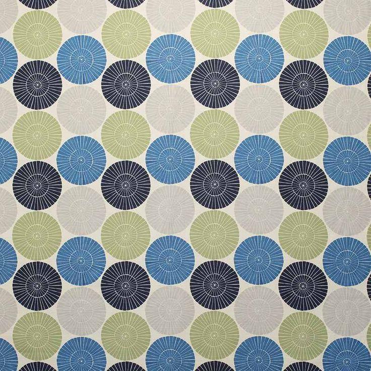 Warwick Fabrics : SALAMANCA, Colour LAGOON