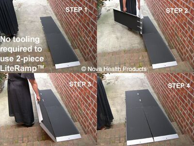 Portable Aluminum Wheelchair Ramps | Home Access Products