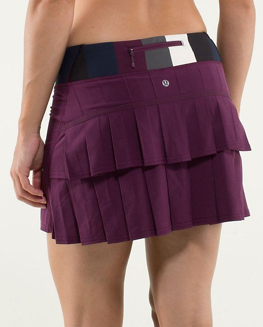 New skirt for state tennis tournament this weekend! Lululemon Run:Pace-Setter Skirt*Tall