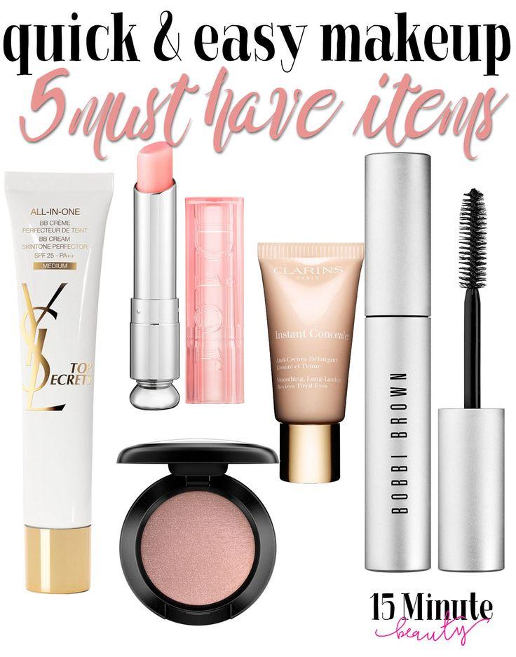 My 5 Makeup Basics for a Makeup Bag