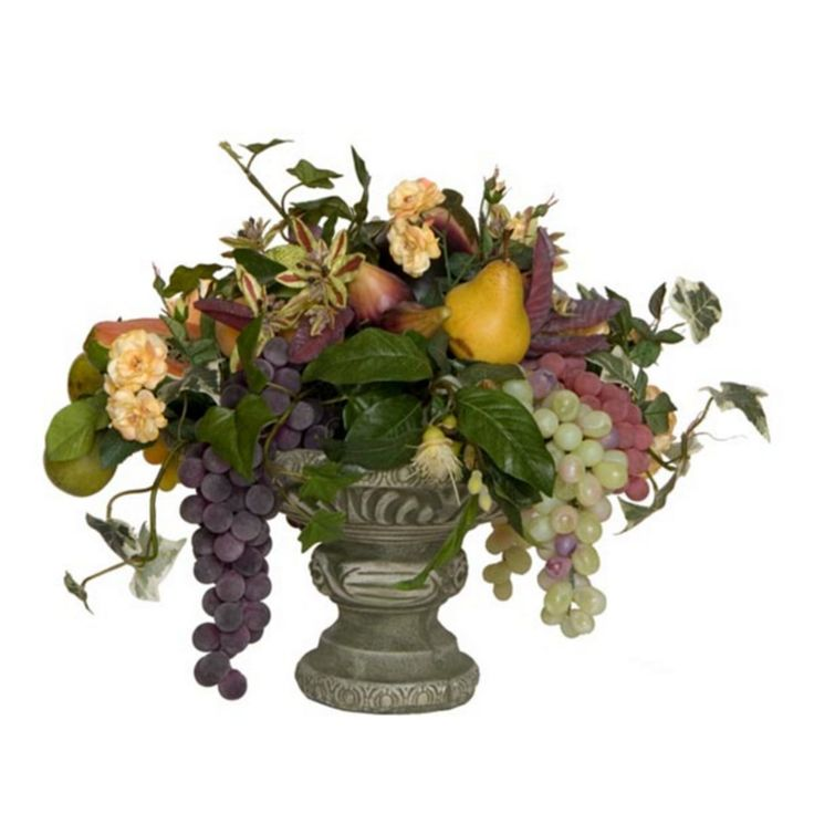 70 best artificial faux silk plants herbs images on for Fall fake flower arrangement ideas
