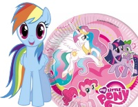 Festa My Little Pony per bambina http://www.eccolafesta.it/compleanni/festa-per-bambini/festa-bambina-festa-per-bambina-3.html