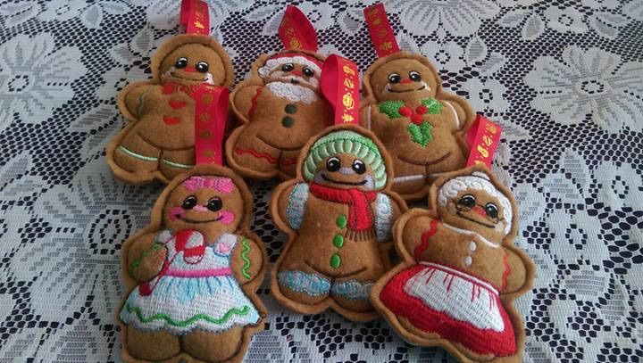Set of ginger bread pack one