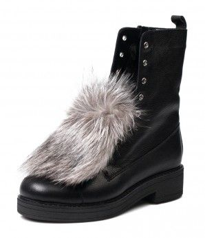 Черные ботинки с мехом. #MarioMuzi #shoes #style #fashion #comfortable #women #for_girls #lady #pretty #beautiful #casual #2016 #autumn #fall #winter #onlineshop #shopping #sale #Kharkiv #Kharkov #Ukraine #Lviv #Dnepropetrovsk #Odessa #МариоМузи #обувь #женская_мода #женская_обувь #женские_туфли #босоножки #интернет_магазин #шоппинг #осень #зима #Харьков #Львов #Днепропетровск #Одесса #сапоги #ботинки