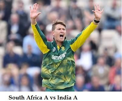 RSAA vs INDA 5th Match Live Stream Info Today- South Africa A vs India A, Afghanistan A and India A in South Africa Tri-Series, 2017. Live broadcast tv news