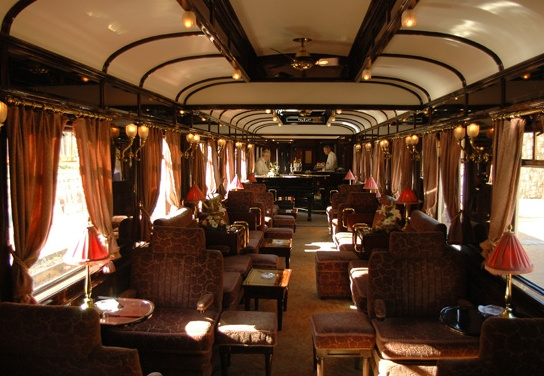 The modern Orient Express, still popular with intrepid travellers and Agatha Christie fans.
