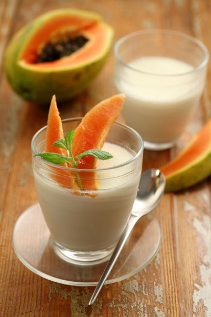 Biancapassione || #Cirio, gusta la nostra #ricetta. #recipe #dessert #sweet #papaia #panna #cream #food #biancapassione #dolci