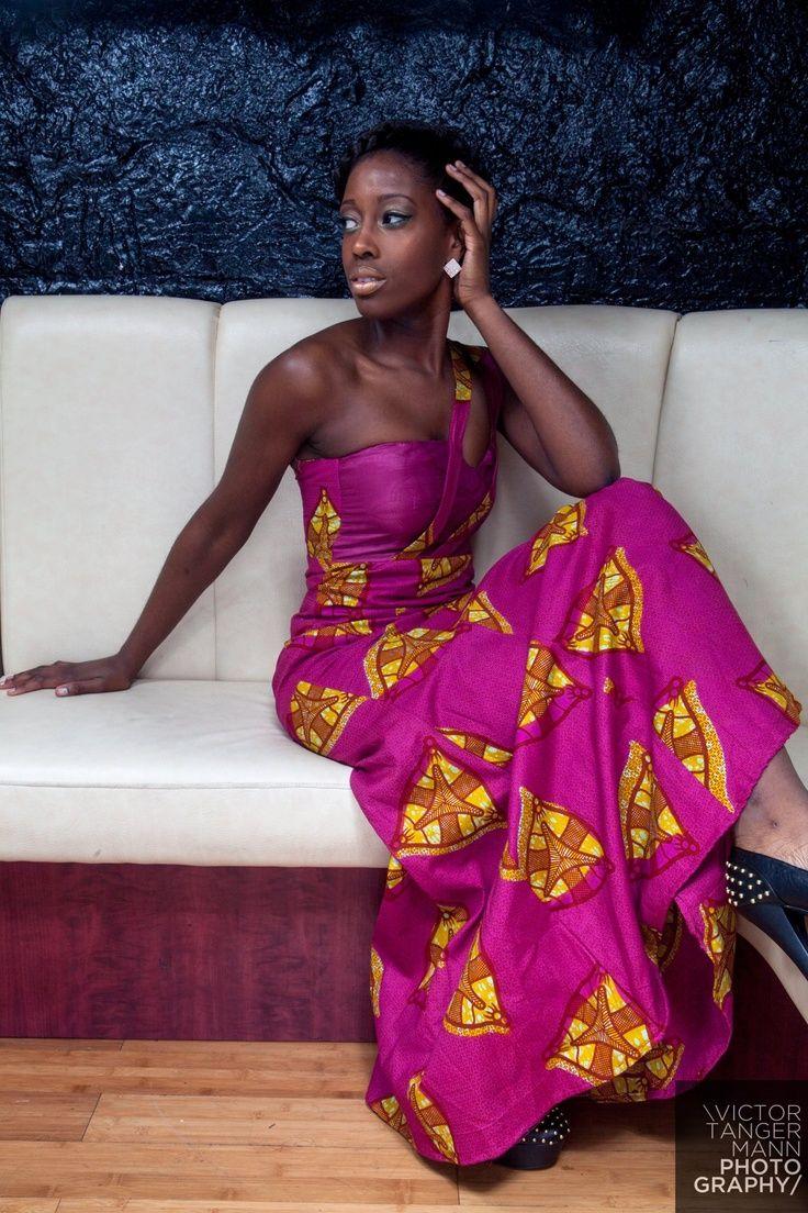 robe soir e wax mode africaine pinterest cire. Black Bedroom Furniture Sets. Home Design Ideas
