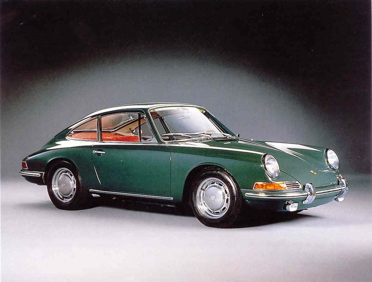 """Early 60's 911 love the Green Color, and Fusch wheels...... The car my Lil Squirt was modeled after! For the """"working man"""""""