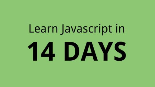 You will learn ALL the fundamentals of the $ #Javascript language and in the end you will be able to make a couple of practical apps with pure Javascript. In the next 14 days you will go from knowing nothing about Javascript or #programming, to learning about #Variables, #Functions, #Arrays, #Objects, #Numbers, #Strings and how to use them all to build practical web applications.
