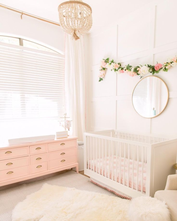 """102 Likes, 11 Comments - Bethany (@theposhhome) on Instagram: """"My favorite part of waking up is walking into this and my other daughters room to see their sweet…"""""""